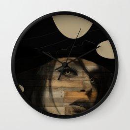 Magic Mushroom Wall Clock