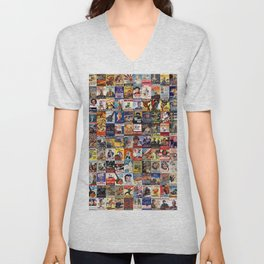 WWII Posters Unisex V-Neck