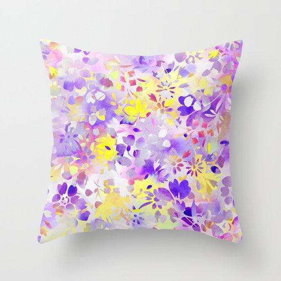 Floral Spirit 2 Throw Pillow