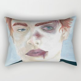 Burn Rectangular Pillow