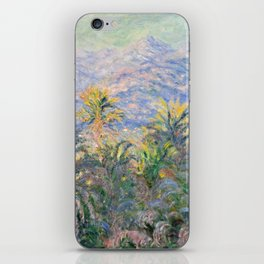 Claude Monet Palm Trees at Bordighera iPhone Skin