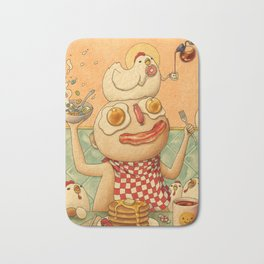 Breakfast Bath Mat