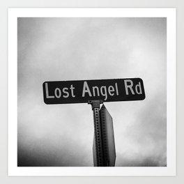 Lost Angel Rd Art Print