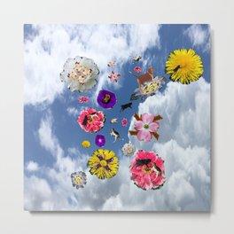 animalflowers amok Metal Print