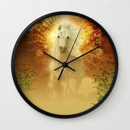Awesome unicorn Wall Clock
