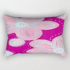 Pinked Rectangular Pillow