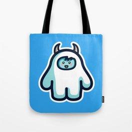 Kawaii Cute Abominable Snowman Yeti Tote Bag