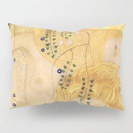 Water Serpents - Gustav Klimt Pillow Sham