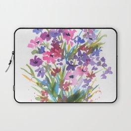 Lavender Mini Fleurs Laptop Sleeve