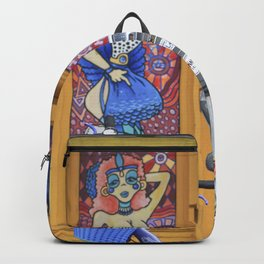 New Orleans Frenchman Bicycle Backpack