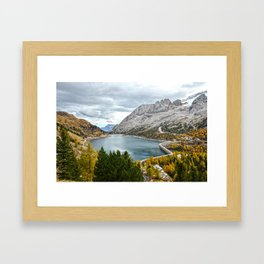 Marmolada Framed Art Print