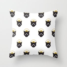 Meow II Throw Pillow