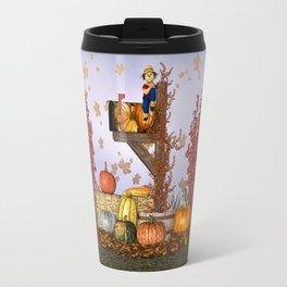 Seasons Mailbox Autumn Travel Mug
