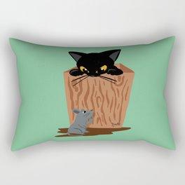 Hide-and-seek Rectangular Pillow