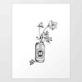 Melbourne Bitter Art Print