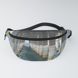 Under the Pier, Into the Ocean (Wrightsville Beach, NC) Fanny Pack