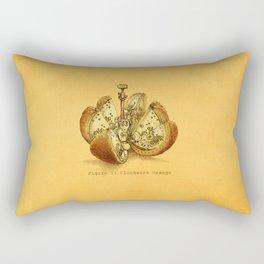 Steampunk Orange  (color option) Rectangular Pillow