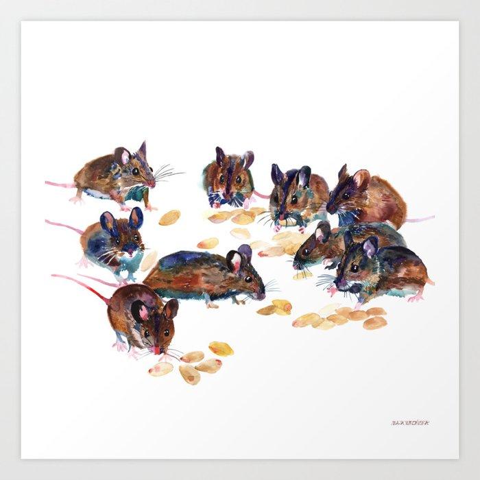 Mice Kunstdrucke
