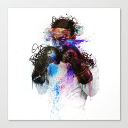 NO CONTENDER! Canvas Print