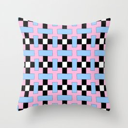 symetric patterns 47 -mandala,geometric,rosace,harmony,star,symmetry Throw Pillow