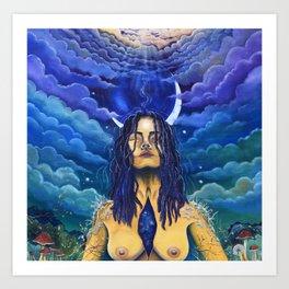 Acceptance: Golden Goddess Art Print