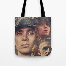 Peaky Blinders, Cillian Murphy, Thomas Shelby, BBC Tv series, Tom Hardy, Annabelle Wallis Tote Bag