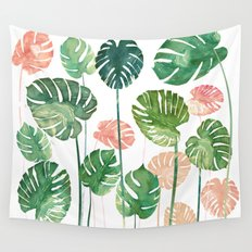TROPICAL CREATION Wall Tapestry