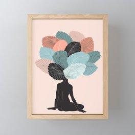 growing mind Framed Mini Art Print