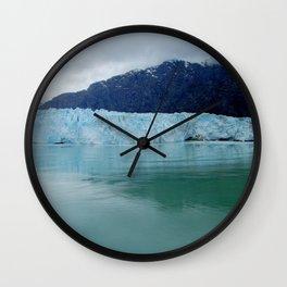 Alaska Blue Iceberg Pristine Wilderness Wall Clock