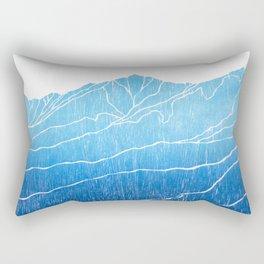 Colorado Mountain Ranges_Breckenridge Tenmile Range Rectangular Pillow