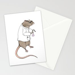 Lab Rat | Color Stationery Cards