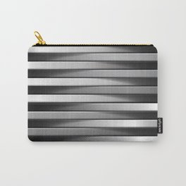 Abstract Line 3D Effect Carry-All Pouch