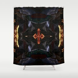 Incoming Shower Curtain
