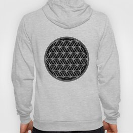Flower of life on black Hoody