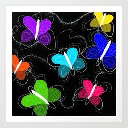 What's a butter fly? Art Print