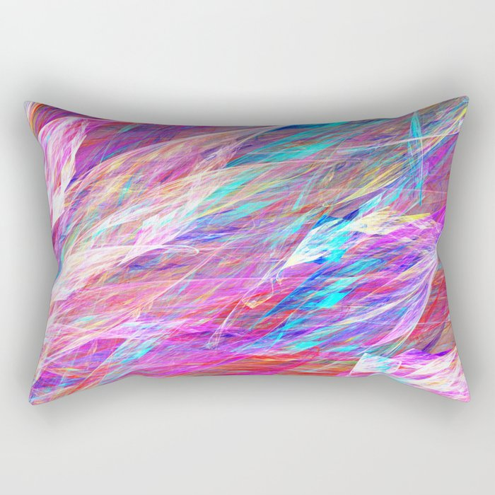 Jewels Unfurling Rectangular Pillow