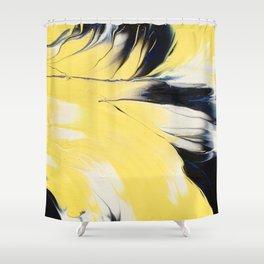 Hello  Yellow ! Shower Curtain