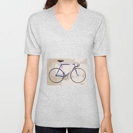 The Gios Track Bike Unisex V-Neck