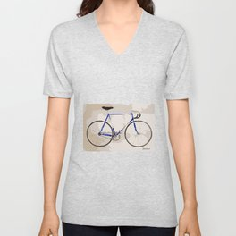The Gios Track Bike Unisex V-Neck