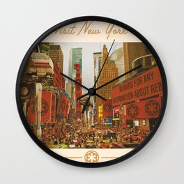 Visit New York Wall Clock