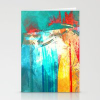 surfing Stationery Cards featuring Surfing by Fernando Vieira