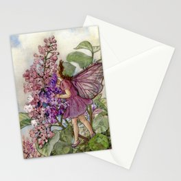 """""""The Lilic Fairy"""" by Cicely Mary Barker Stationery Cards"""