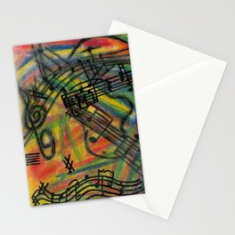 Crazy Train Stationery Cards
