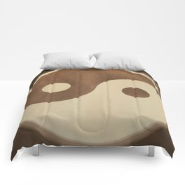 Jin Jang wooden marquetry picture art Comforters