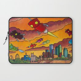 Robot - Air Traffic Laptop Sleeve
