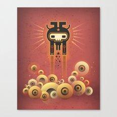 Electrochaman (champs de visions) Canvas Print