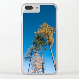 Touch the Sky Clear iPhone Case