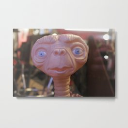 ET Is Watching You Metal Print