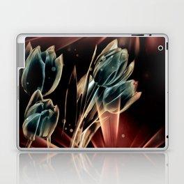 Blaue Tulpen Laptop & iPad Skin