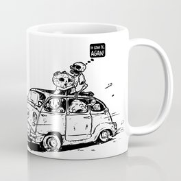 Adventures of Crashy D. Coffee Mug